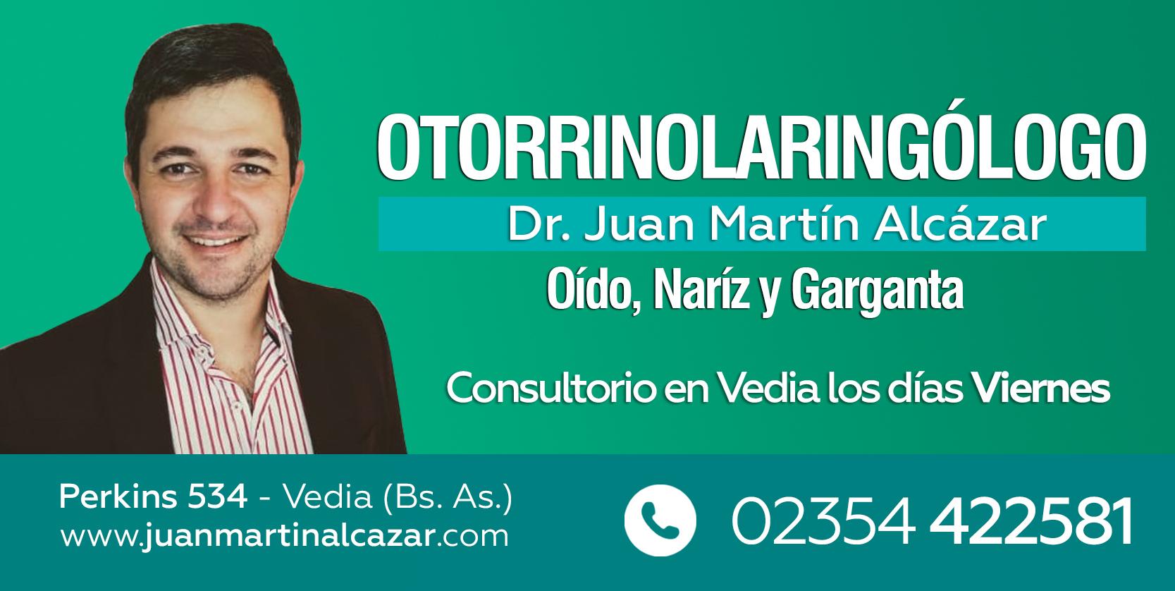 Otorrino Juan Martin Alcanzar